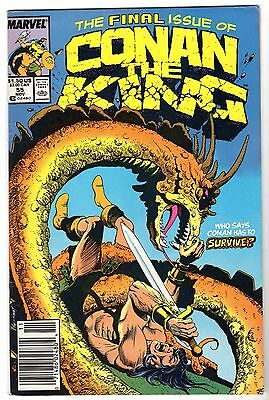 Conan The King #55, Very Fine - Near Mint Condition'