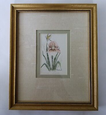 Mary Vincent Bertrand Iris Print Signed Limited Edition 1117/1500 Framed