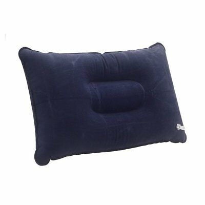 Double-sided Flocking Pillow Inflatable Portable Foldable Pillow for Campin P6P8