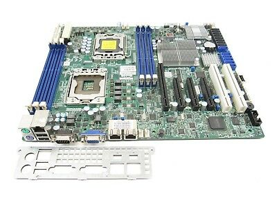 SuperMicro X8DTL-3F REV 2.01 Server Motherboard Dual LGA1366 w/ I/O Shield