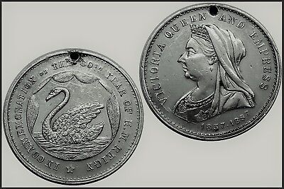 1897/87 Queen Victoria 60 Years of Rule Commemorative Medallion