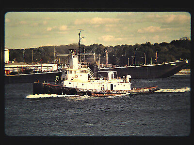 Original slide tugboat  ANNA MAE at Sewaren, NJ on 10-22-97