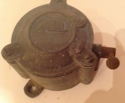 Vintage Arbal Reclaimed  Industrial Factory Toggle On Off Light Switch Cast