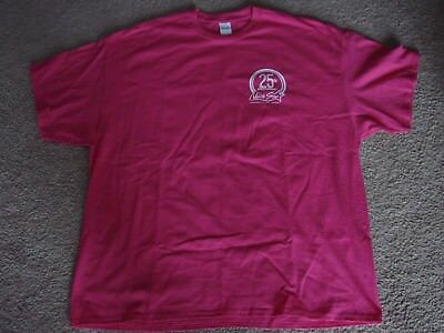 North Star Pink 25th Anniversary Mohican Casino Resort 2xl Tee Shirt