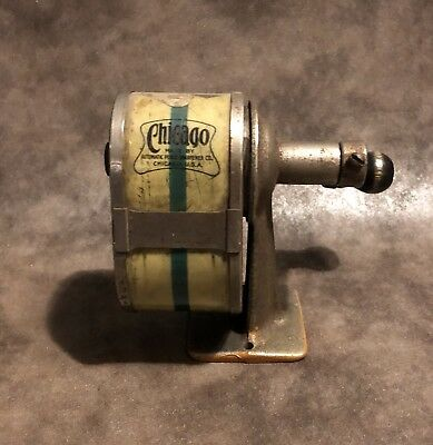 Vintage Chicago Pencil Sharpener Made In the USA Patented 1931