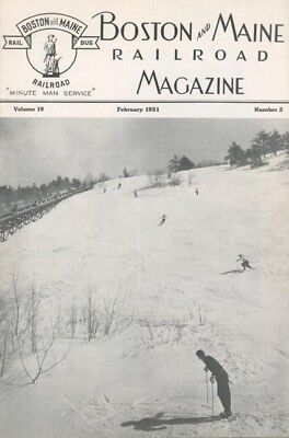 Boston & Maine Rr Mag.,2/51:our Railroad's Advertising;new Fitchburg Div.super.!