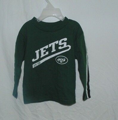 NFL Jets New York  boy  shirt   size 2T green