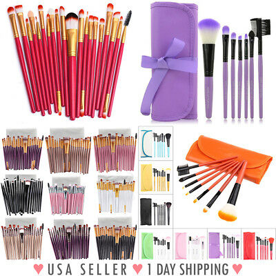 MAKEUP BRUSHES, 20pcs Brushes & 7pcs Brushes For Eye Face Cheeks