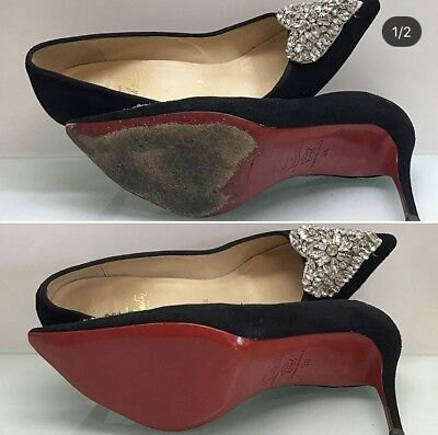 Bright Crystal Clear Sole Protector For Red Sole Christian Louboutin Red Bottom Heels Women's Shoes Clothing, Shoes & Accessories
