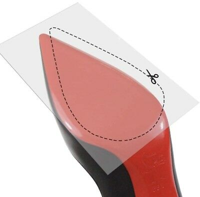 cc0357ca6928 Crystal Clear 3M sole protectors guard for Christian Louboutin red bottom  heels