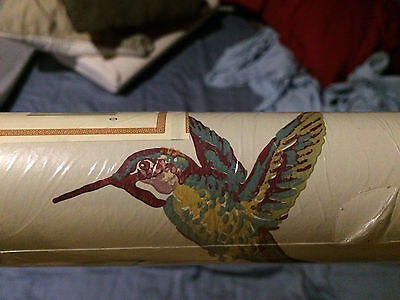 York Wallpaper New Hummingbird 56 Sq Ft Lt9564 Double Roll