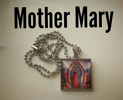 Code 309 Mother Mary infused Necklace Confirmation Holy Communion Catholic Jesus