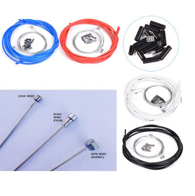 Front & Rear Brake Gear Cable Set Inner Outer MTB Mountain / Road Bike Bicycle