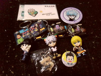 Hunter x Hunter Rare Japan Keychain Pin Charm Lot Kurapika Killua Chrollo Anime