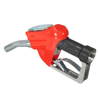 Fuel Gasoline Diesel Petrol Oil Delivery Gun 1 Nozzle Dispenser + Flow Meter