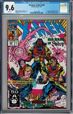 The Uncanny X-Men #282 (1991, Marvel) CGC 9.6 1st Appearance of Bishop not 9.8