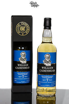 Cadenhead Islay Aged 7 Years Single Malt Scotch Whisky 700ml
