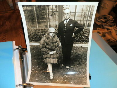 #8567,Orig.Henry Miller Photo,1920,Ahmed Moukhtar Bey,Turkish Ambass.& Wife