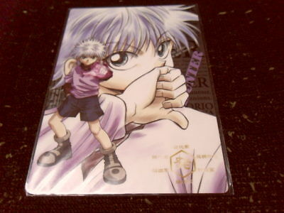 Hunter x Hunter Killua Japan Pencil Board Shitajiki RARE Anime Manga