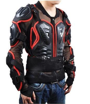 Motorcycles Armor Protection Motocross Jacket Protector Cross Chest Back Gear