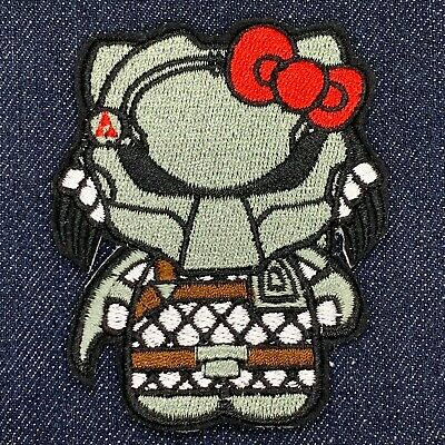 HELLO KITTY EVANGELION EVA AYANAMI EMBROIDERED IRON ON PATCH FREE SHIPPING