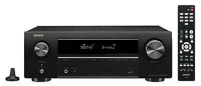 DENON AV receiver 5.2 ch Dolby True HD DTS: HD Master Audio AVR-X 550 BT-K
