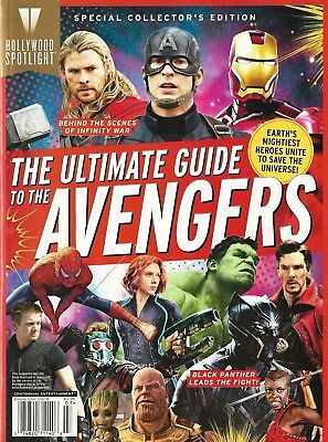The Ultimate Guide To The AVENGERS Infinity War Magazine Centennial Special Edit