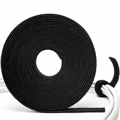5m Cable Manager Tape - Mikro Klettband für Kabel - Kabelmanager 5m