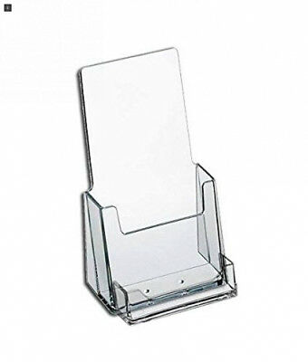 """SourceOne 4"""" Wide Tri-Fold Brochure and Business Card Holder for Booklets -..."""