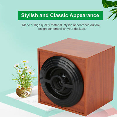 M9 Wooden USB Mini Speaker Portable Stereo Desktop Computer PC Speaker Subwoofer