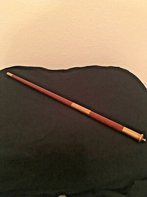 111 yr old Rare Vintage Antique Musical Conductors Baton, Engraved, 14K gold
