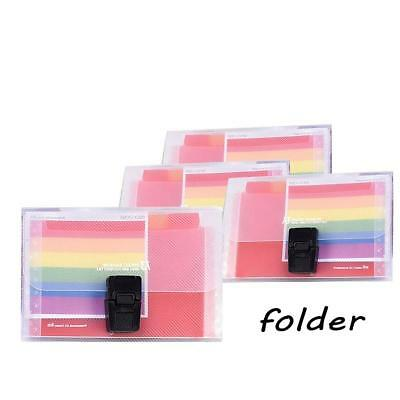 1 A6 13Pocket Expand File Plastic Folder Office Organizer Document_Stationey