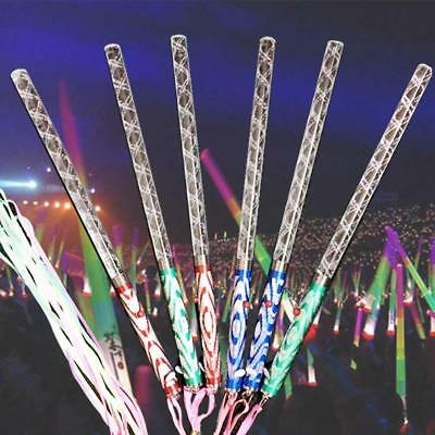 1x LED Magic Wand Multi Color Changing Flash Party Concert Neon Glow Light_Stick