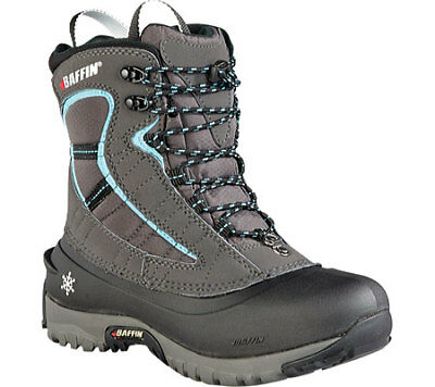 Baffin Women's Sage Insulated Active Boots, Charcoal/Teal, 11