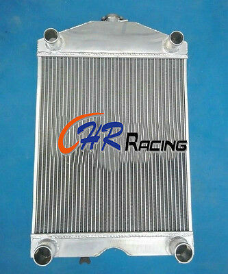 56mm aluminum radiator for Ford 2N / 8N / 9N tractor w/flathead V8 engine MT
