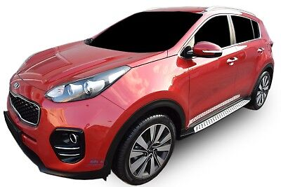 Side steps KIA SPORTAGE QL 2015-up Running Boards OEM STYLE