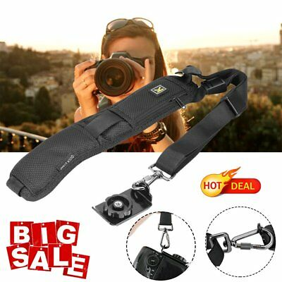 Quick Rapid Shoulder Sling Belt Neck Strap for Camera SLR/DSLR Nikon Canon Sony!