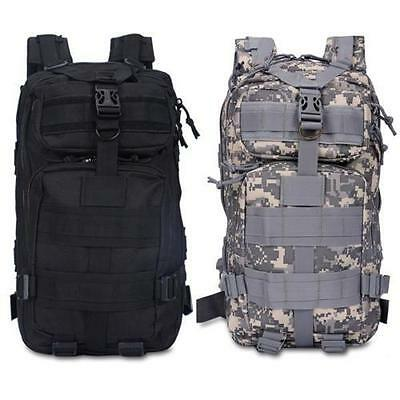 30L 3P Outdoor Military Tactical Backpack Camping Hiking Trekking Bag LOT MGL