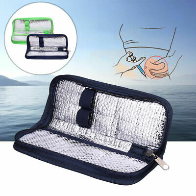 Insulin Pen Case Pouch Cooler Travel Diabetic Pocket Cooling Protector Bag New