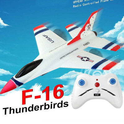 FX-823 2.4G 2Ch RC Airplane 360° Eversion Plane Aircraft Outdoor Drone Kids Gift