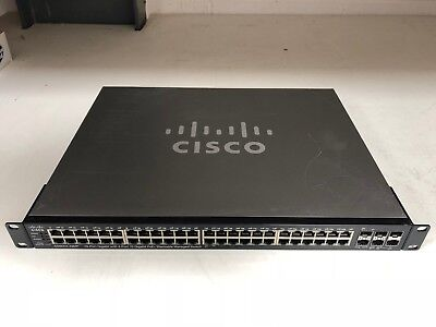CISCO SG500X-48MP-K9-G5 SG500X 48MP Layer 3 Switch 48port Gig +4 10Gig Max PoE+