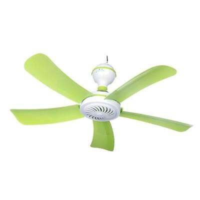 Ceiling Fan Light Hunter Green Blades Ultra Silent Electric Large Wind Portable