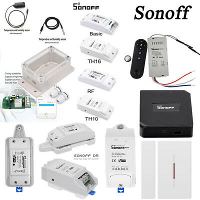 Sonoff IFan02 Basic Dual G1 TH Pow RF DW1 Smart WiFi Switch APP Remote Timer OB1