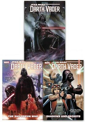 Star Wars Darth Vader Collection 3 Books Set Shadows and Secrets, The Shu-Torun