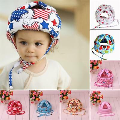Baby Toddler Safety Hats Cap Drop Helmet Headguard Harnesses Kid Soft Protection