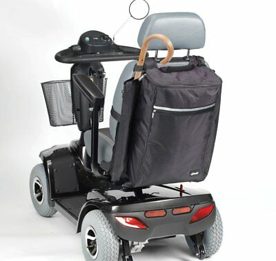 Mobility Bag Holdall with Side Mounted Holder for Crutches, Cane, Walking Sticks