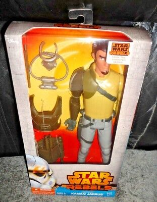 "Kanan Jarrus - Star Wars Rebels Hero Series 12"" Action Figure Disney New In Box"