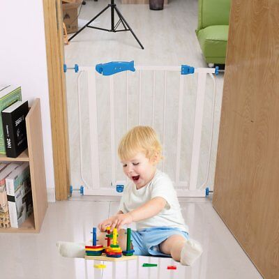 Easy Open Extre Wide Pet Pets Baby Babies Child Protect proof Metal Safety Gate