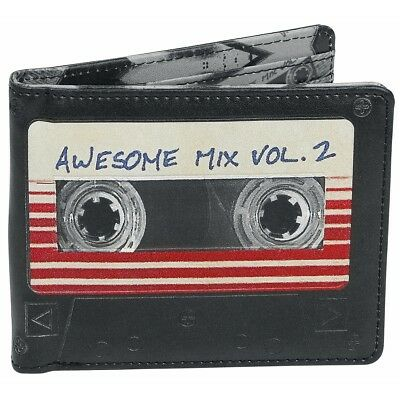 NEW OFFICIAL Marvel Guardians of the Galaxy Vol 2 Awesome Mix Boys Mens Wallet