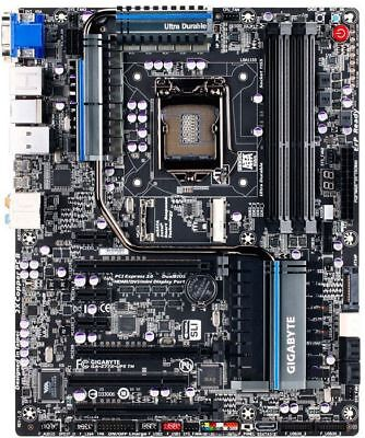 Gigabyte GA-Z77X-UP5 TH Rev.1.0 Intel Z77 Mainboard ATX Sockel 1155  #300656